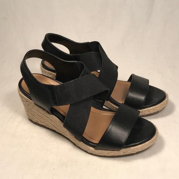 bdceab16b778 Vionic Ainsleigh Espadrille Wedge Sandals Women 5.  M 5c8d4a18aaa5b84087ddc402